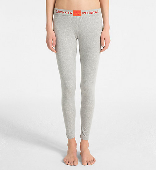 CALVIN KLEIN Legging - Monogram - GREY HEATHER - CALVIN KLEIN MONOGRAM FOR HER - image principale