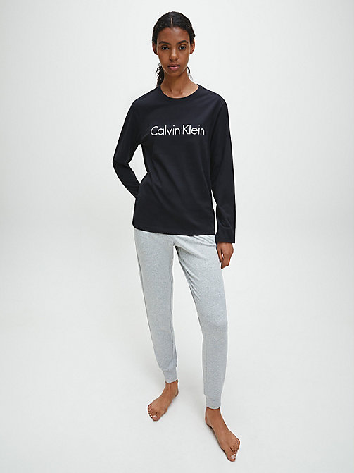 CALVIN KLEIN Logo T-Shirt - Comfort Cotton - BLACK - CALVIN KLEIN NEW FOR WOMEN - detail image 1