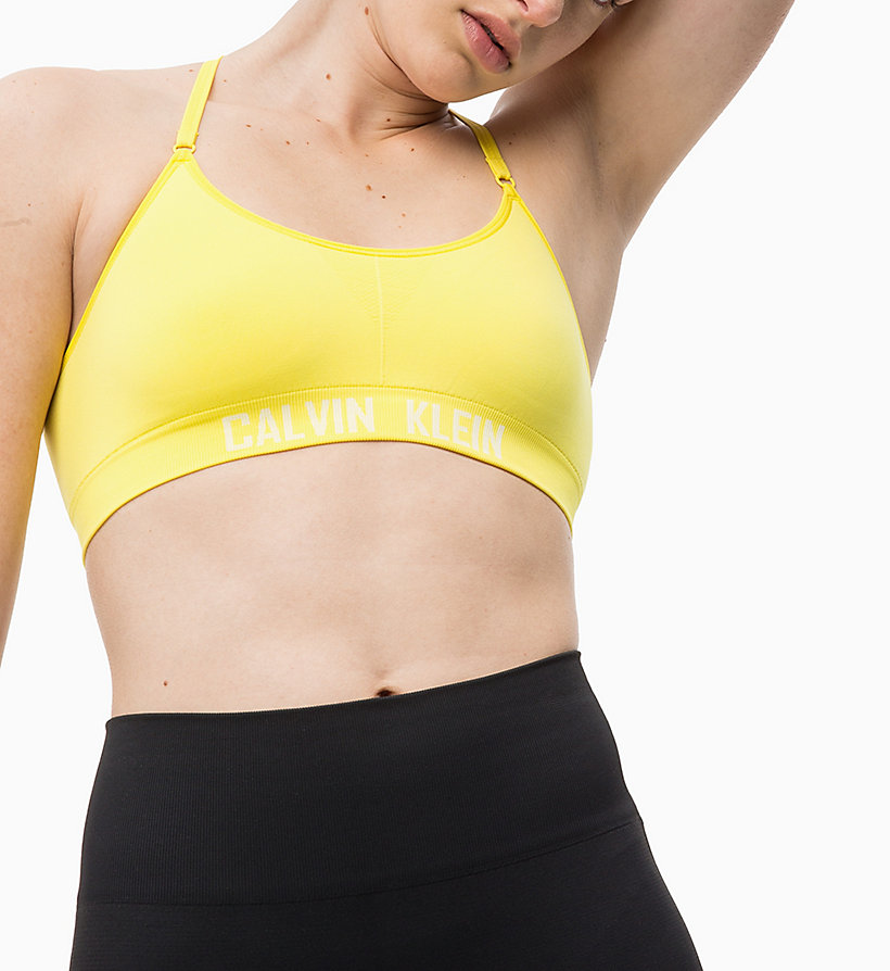 CALVIN KLEIN Low Impact Strappy Sports Bra - CK BLACK - CALVIN KLEIN PERFORMANCE - detail image 2