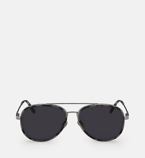 CALVINKLEIN Aviator Sunglasses CK18103S - SMOKE TORTOISE - CALVIN KLEIN SHOES & ACCESSORIES - main image
