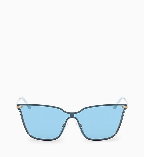 CALVINKLEIN Shield Sunglasses CK18115S - LIGHT BLUE - CALVIN KLEIN SUNGLASSES - main image
