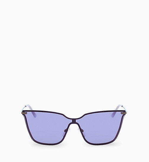 CALVINKLEIN Shield Sunglasses CK18115S - LIGHT PURPLE - CALVIN KLEIN SUNGLASSES - main image