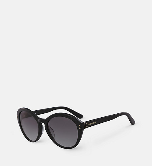 CALVINKLEIN Cat Eye Sunglasses CK18506S - BLACK - CALVIN KLEIN SUNGLASSES - detail image 1