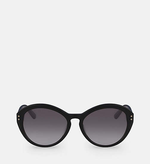CALVINKLEIN Cat Eye Sunglasses CK18506S - BLACK - CALVIN KLEIN SUNGLASSES - main image