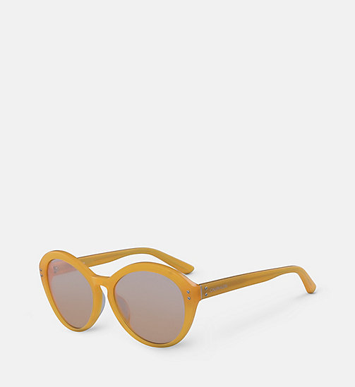 CALVINKLEIN Cat Eye Sunglasses CK18506S - MILKY ORANGE - CALVIN KLEIN SUNGLASSES - detail image 1