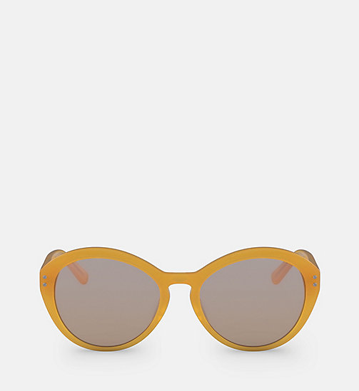 CALVINKLEIN Cat Eye Sunglasses CK18506S - MILKY ORANGE - CALVIN KLEIN SUNGLASSES - main image