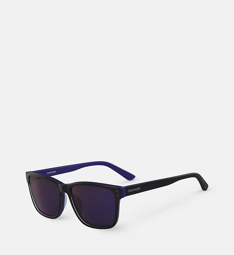 CALVINKLEIN Square Sunglasses CK18508S - CARGO/YELLOW - CALVIN KLEIN MEN - detail image 1