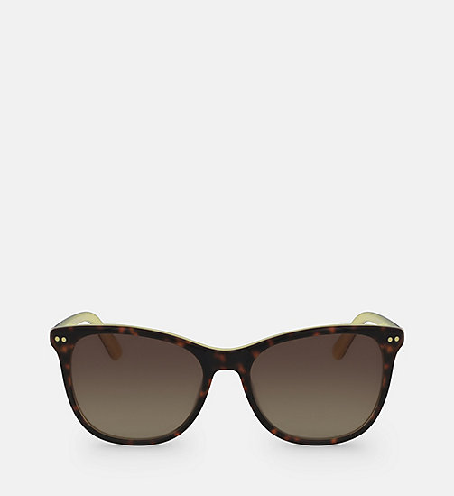 CALVINKLEIN Square Sunglasses CK18510S - TORTOISE/YELLOW -  SUNGLASSES - main image