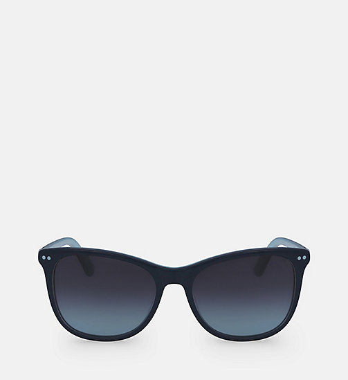 CALVINKLEIN Square Sunglasses CK18510S - TEAL/LIGHT BLUE - CALVIN KLEIN SUNGLASSES - main image