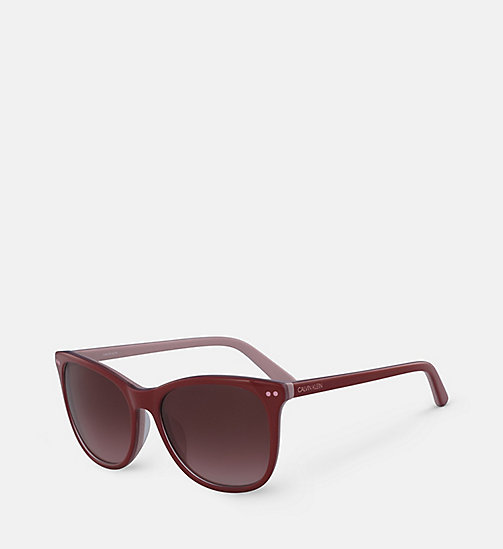 CALVINKLEIN Square Sunglasses CK18510S - RED/BLUSH - CALVIN KLEIN SUNGLASSES - detail image 1