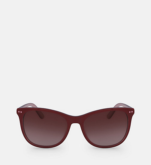 CALVINKLEIN Square Sunglasses CK18510S - RED/BLUSH - CALVIN KLEIN SUNGLASSES - main image