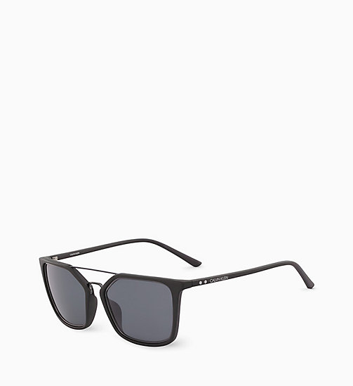 CALVINKLEIN Rectangle Sunglasses CK18532S - MATTE BLACK - CALVIN KLEIN SUNGLASSES - detail image 1