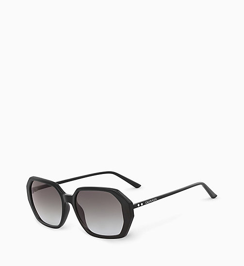 CALVINKLEIN Rectangle Sunglasses CK18535S - BLACK - CALVIN KLEIN SUNGLASSES - detail image 1