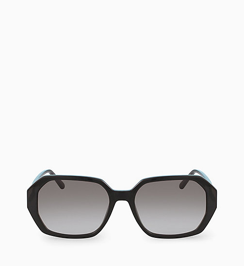 CALVINKLEIN Rectangle Sunglasses CK18535S - BLACK - CALVIN KLEIN SUNGLASSES - main image