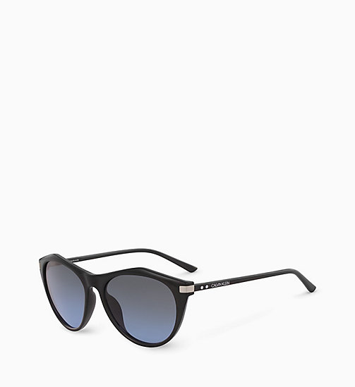 CALVIN KLEIN Cat Eye Sunglasses CK18536S - BLACK - CALVIN KLEIN SUNGLASSES - detail image 1