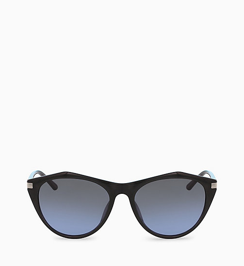 CALVINKLEIN Cat Eye Sunglasses CK18536S - BLACK - CALVIN KLEIN SUNGLASSES - main image