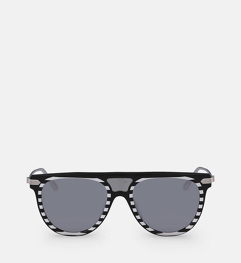 CALVINKLEIN Aviator Sunglasses CK18703S - GREY/BLUE - CALVIN KLEIN WOMEN - main image