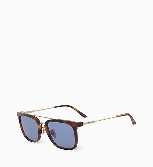 CALVIN KLEIN Rectangle Sunglasses CK18719S - SOFT TORTOISE - CALVIN KLEIN SUNGLASSES - detail image 1