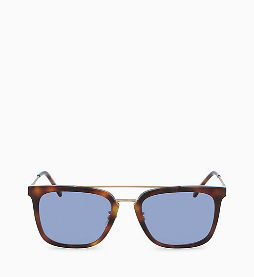 CALVIN KLEIN Rectangle Sunglasses CK18719S - SOFT TORTOISE - CALVIN KLEIN SUNGLASSES - main image