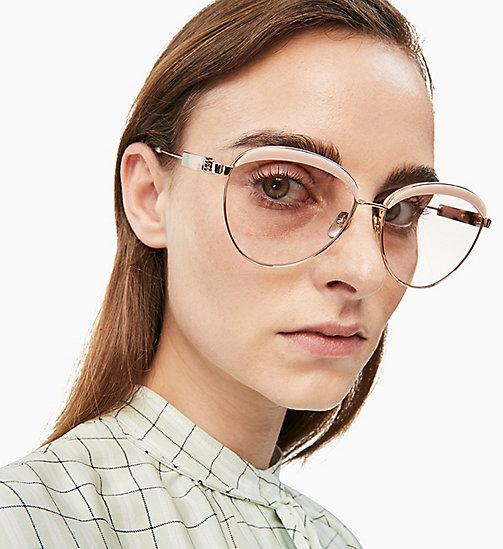 09489067a8 Women's Sunglasses | Round & Cat Eye | CALVIN KLEIN® - Official Site