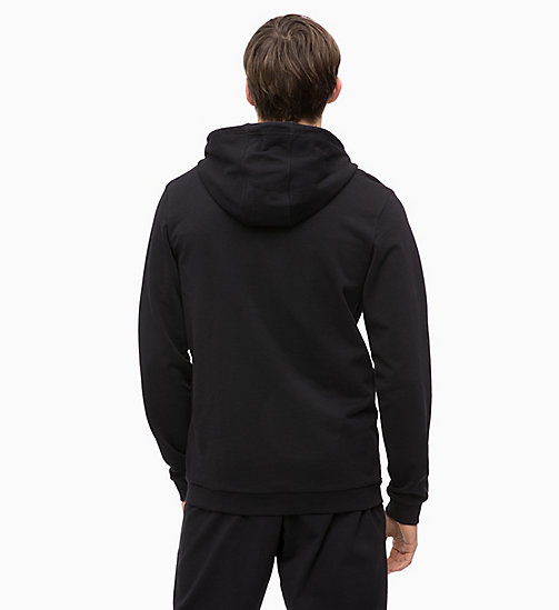 CALVINKLEIN Zip Through Hoodie - CK BLACK - CALVIN KLEIN HANGOUT - detail image 1