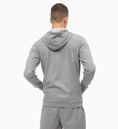 CALVINKLEIN Hoodie met rits - MEDIUM GREY HEATHER -  SPORT - detail image 1