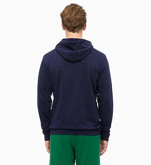 CALVINKLEIN Zip Through Hoodie - EVENING BLUE - CALVIN KLEIN SPORT - detail image 1