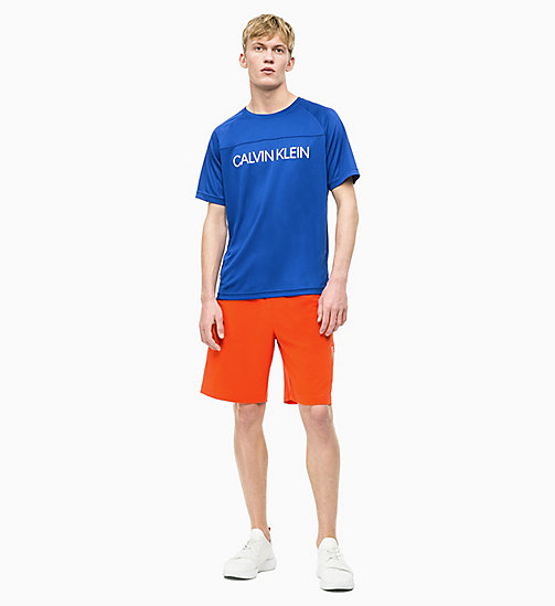 CALVIN KLEIN Футболка Coolcore с логотипом - SURF THE WEB - CALVIN KLEIN SPORT - подробное изображение 1