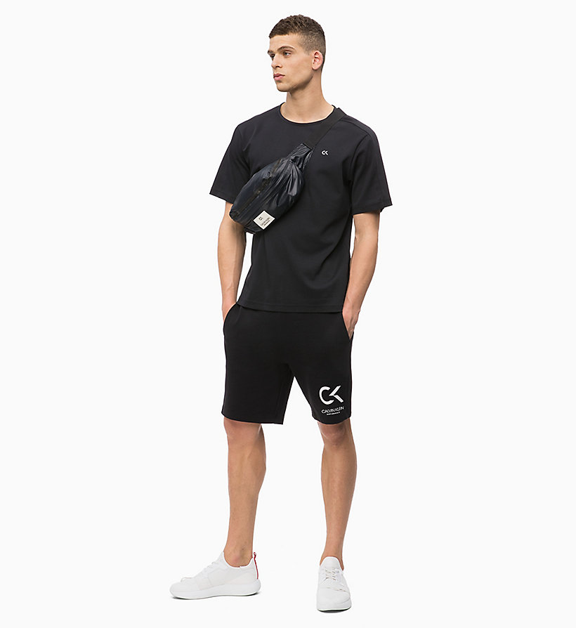 CALVIN KLEIN T-Shirt - BRIGHT WHITE - CALVIN KLEIN PERFORMANCE - main image 4