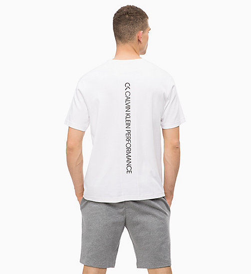 CALVINKLEIN T-Shirt - BRIGHT WHITE - CALVIN KLEIN Workout - main image 1