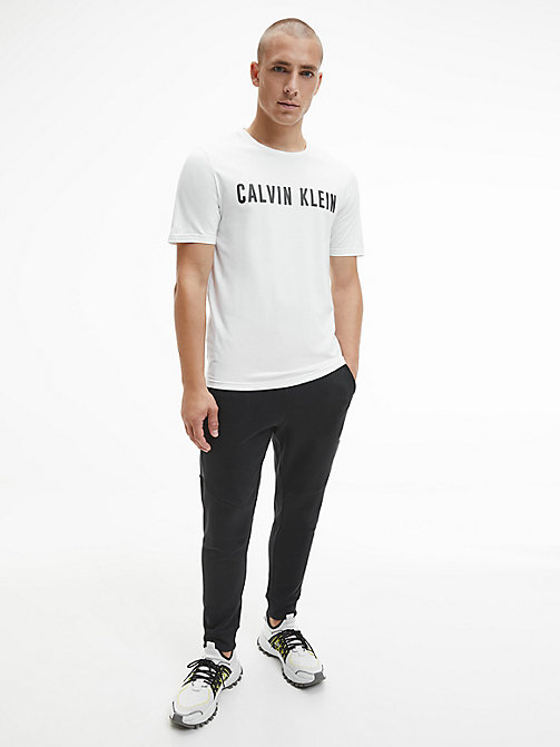 CALVINKLEIN T-shirt met logo - BRIGHT WHITE - CALVIN KLEIN Chill-out - detail image 1