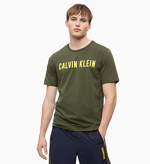 CALVIN KLEIN Футболка с логотипом - FOREST NIGHT - CALVIN KLEIN SPORT - главное изображение