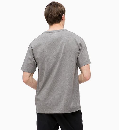 CALVINKLEIN T-shirt - MEDIUM GREY HEATHER - CALVIN KLEIN SPORT - detail image 1