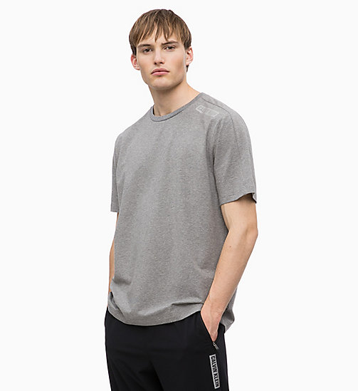 CALVIN KLEIN T-shirt - MEDIUM GREY HEATHER - CALVIN KLEIN SPORT - main image