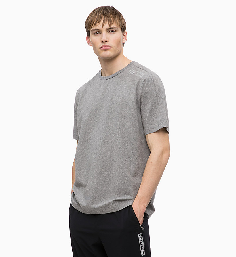 CALVIN KLEIN T-shirt - BRIGHT WHITE - CALVIN KLEIN PERFORMANCE - main image