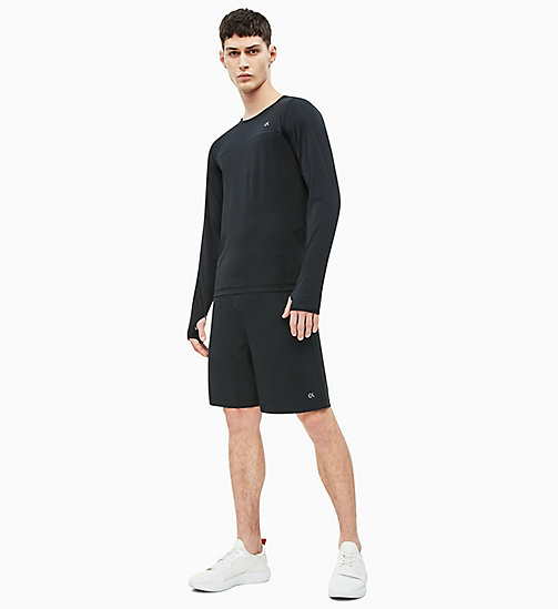 CALVIN KLEIN Long Sleeve Technical Top - CK BLACK - CALVIN KLEIN SPORT - detail image 1