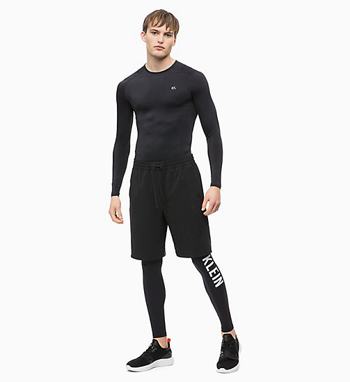 CALVIN KLEIN Compression Long Sleeve Technical Top - CK BLACK - CALVIN KLEIN SPORT - detail image 1