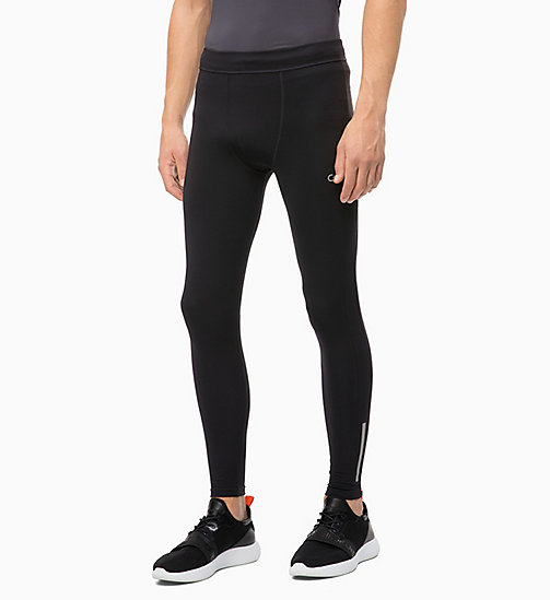 CALVIN KLEIN Performance Tights - CK BLACK - CALVIN KLEIN SPORT - main image