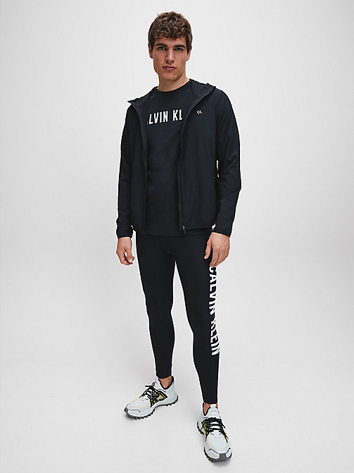 CALVINKLEIN Zip Through Tracksuit Jacket - CK BLACK - CALVIN KLEIN SPORT - detail image 1