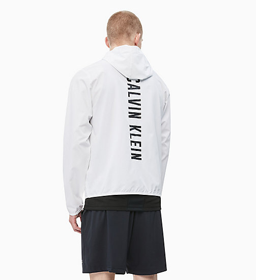 CALVINKLEIN Zip Through Tracksuit Jacket - BRIGHT WHITE - CALVIN KLEIN SPORT - detail image 1