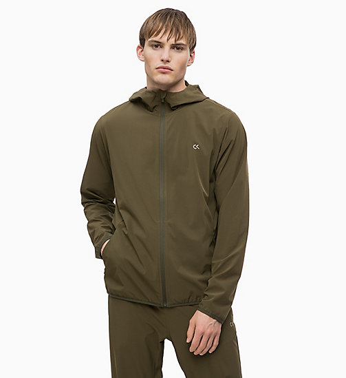 CALVINKLEIN Zip Through Tracksuit Jacket - FOREST NIGHT - CALVIN KLEIN SPORT - main image