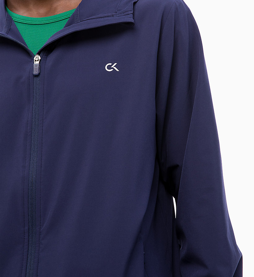 CALVIN KLEIN Logo-Windbreaker - SURF THE WEB - CALVIN KLEIN PERFORMANCE - main image 2