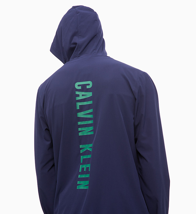 CALVIN KLEIN Logo-Windbreaker - SURF THE WEB - CALVIN KLEIN PERFORMANCE - main image 3