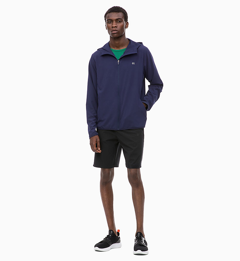 CALVIN KLEIN Logo-Windbreaker - SURF THE WEB - CALVIN KLEIN PERFORMANCE - main image 4