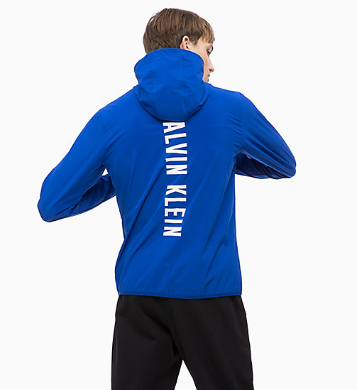 CALVINKLEIN Zip Through Tracksuit Jacket - SURF THE WEB - CALVIN KLEIN WORKOUT - detail image 1