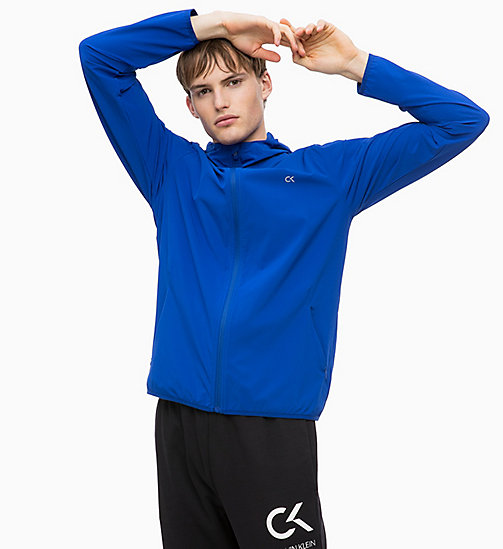 CALVINKLEIN Zip Through Tracksuit Jacket - SURF THE WEB - CALVIN KLEIN WORKOUT - main image