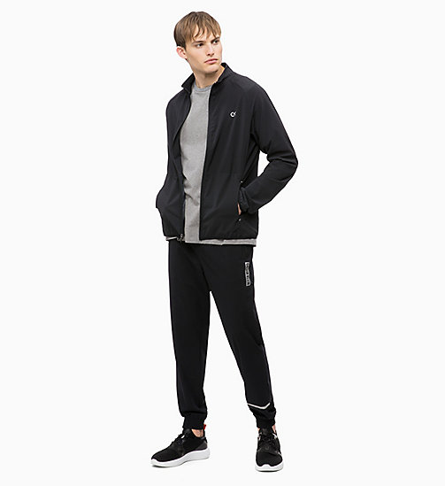 CALVIN KLEIN Zip Through Tracksuit Jacket - CK BLACK - CALVIN KLEIN SPORT - detail image 1