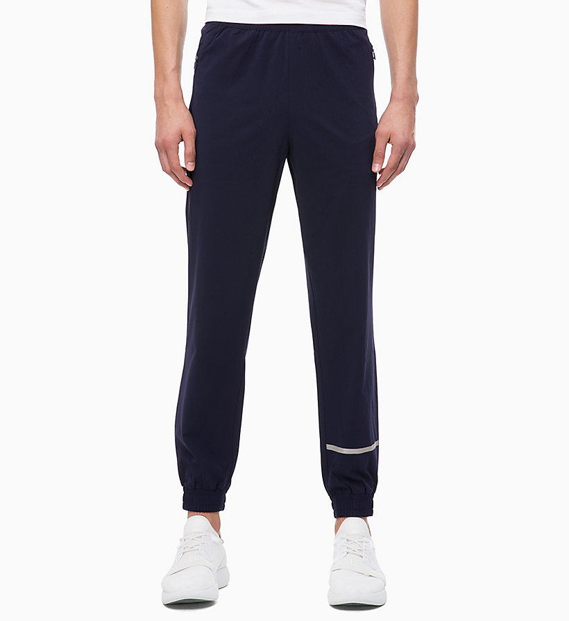 CALVIN KLEIN Tracksuit Bottoms - CK BLACK - CALVIN KLEIN PERFORMANCE - main image