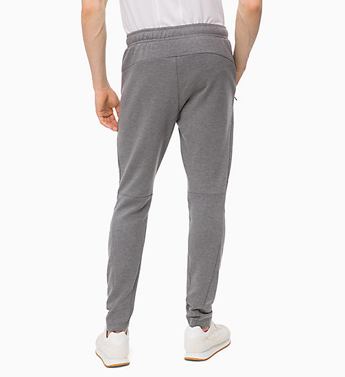 CALVINKLEIN Pantalon de jogging - MEDIUM GREY HEATHER - CALVIN KLEIN SPORT - image détaillée 1