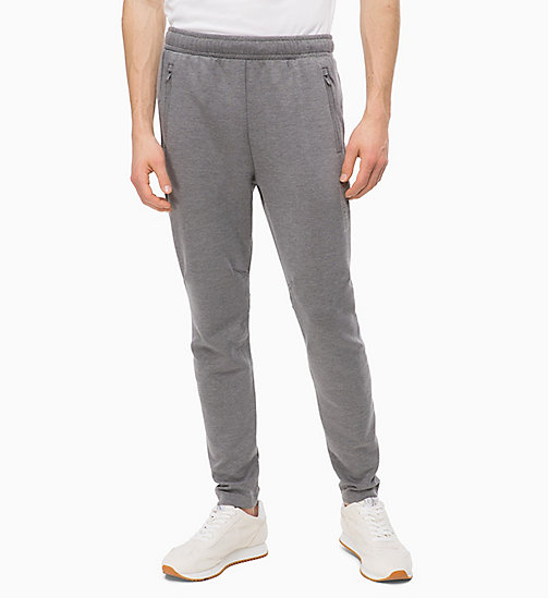 CALVIN KLEIN Joggers - MEDIUM GREY HEATHER -  SPORT - main image